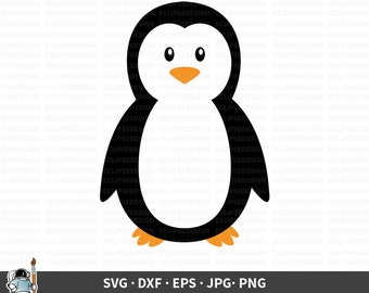 Penguin Svg Etsy