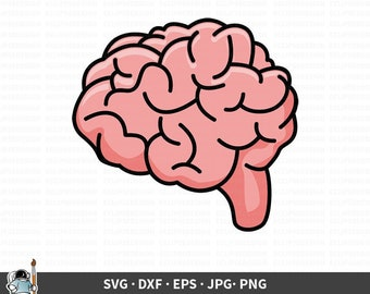 brain clipart etsy brain clipart etsy