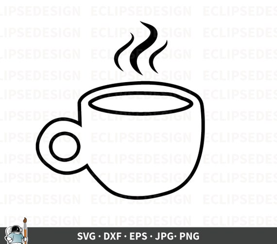 Coffee Svg Coffee Mug Svg Barista Svg Coffee Mug Clipart Etsy