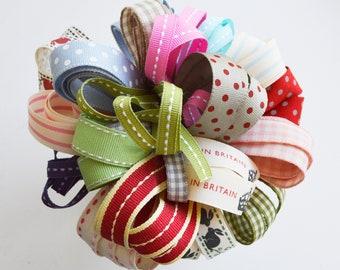15 Metres Patterned Ribbon Mixed Bundle