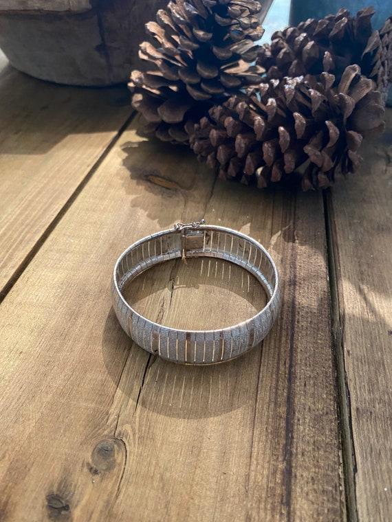 Gorgeous solid silver bracelet assay hallmarked ,… - image 4
