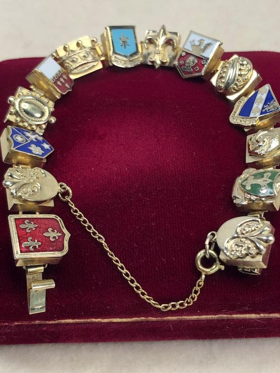 Vintage Eurapean Souvenir Bracelet