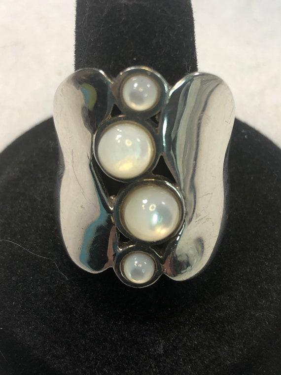 Vintage Robert Lee Morris Sterling Silver Crescent Moon And Earrings Set.