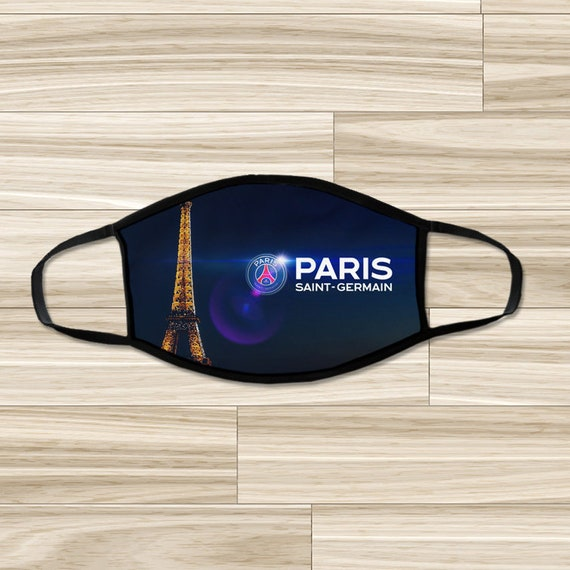 Paris Saint Germain Face Mask Psg Face Cover Adults Youth Etsy