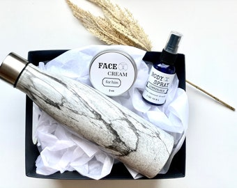Men Spa Care Gift Box, Holiday Gift for Him, Birthday Gift Box Dad, Husband Gift Idea