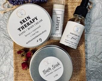 Beauty spa gift set, Birthday box set, Bath Soak gift set, Best Friend gift