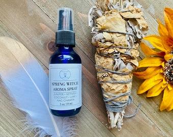 Spring Witch Body Spray, Room and Linen Spray, Natural Perfume Spray, Aromatherapy Body Mist, Nag Champa