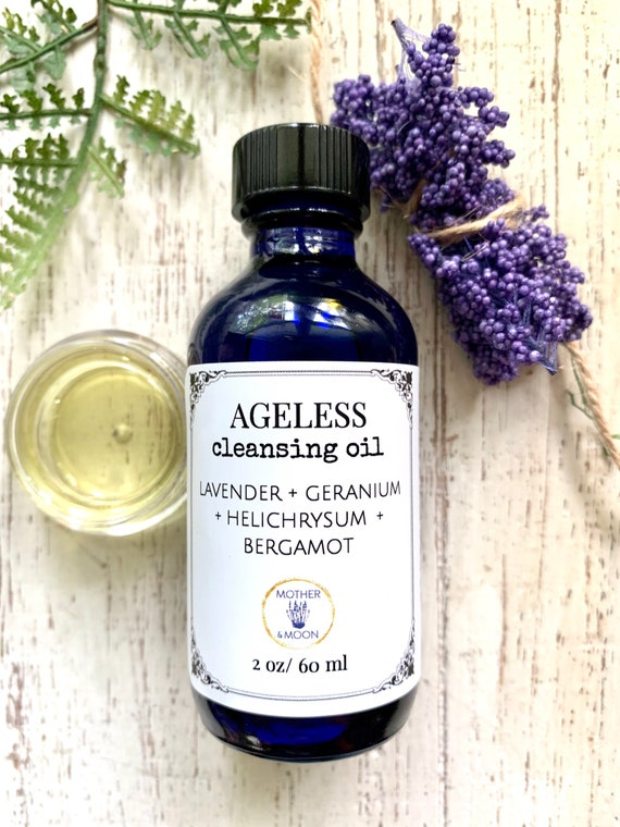 Mature Skin Care, Ageless Cleansing Oil, botanical face cleanser, natural oil cleansing method, anti-aging facial oil cleanser