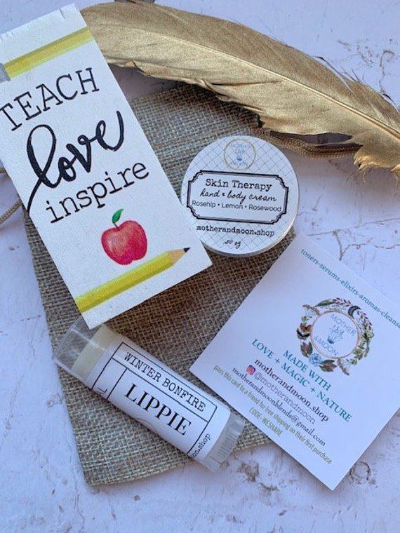 Teacher Appreciation Gift set, Christmas teacher gift idea, lip balm gift set, Pandemic Teacher Gift