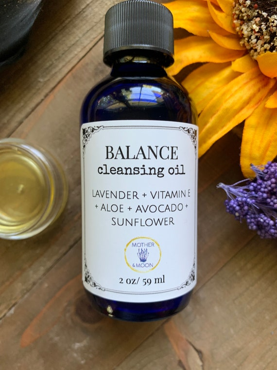 Balance Skin Care Facial Wash, Normal / Combination Skin Facial Cleansing Oil Method, Natural Oil Face Cleanser