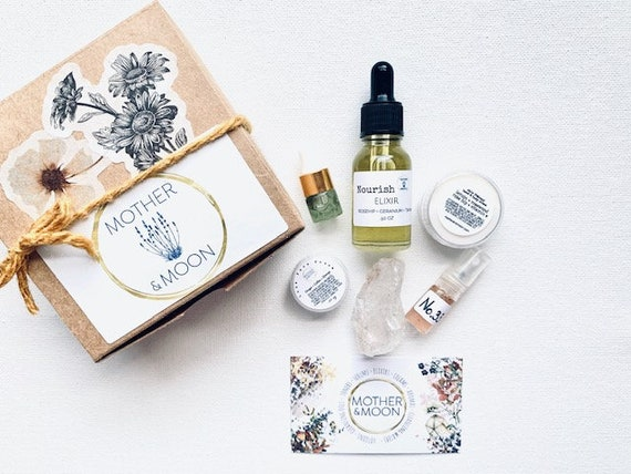 Best Seller Sampler Kit, Face Trial size set, Natural skin care products travel size, Natural lotion and serum sample size