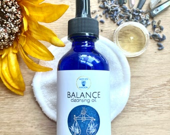 Natural Skincare Face oil, Balance Skin Care Facial Wash, Normal / Combination Skin Facial Cleansing Oil Method