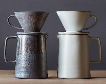 TANGPIN Japanese Ceramic Coffee Dripper Coffee Jug Chinese Drip Coffee Cone