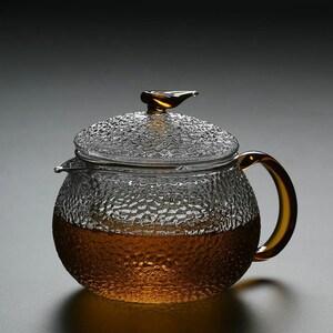 TANGPIN TEA-Heat-resistant Glass Teapots Flower Tea pot 600ml