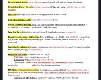 Proctored Nursing School Exit Exam Study Guide