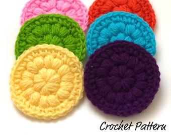 PDF Crochet Pattern - Crochet Face Scrubbie