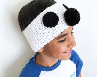 Crochet Mouse Ear Warmer, Crochet Ear Warmer Headband, Crochet Ear Warmer for Kids, Mouse Crochet Headband, Baby Gift, Stocking Stuffers