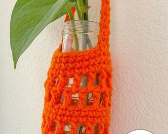 PDF Crochet Pattern - Crochet Plant Hanger - Looking out the Window