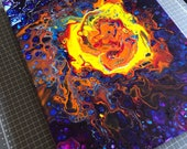 Pouring Painting, Acrylic Open Cup