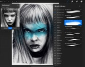 Procreate Brush Set - NDV SKETCH and ERASER pack