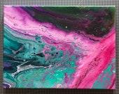 Original Acrylic Pouring Painting