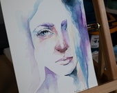 ORIGINAL Watercolor Portrait