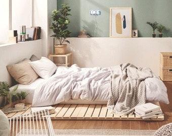 Pallet Bed Etsy