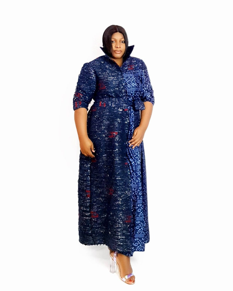 long maxi dress African women clothing african print dress women coat african clothing for women handwooven dress,maxi dress mud cloth