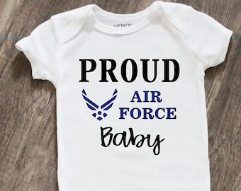 United States Coast Guard Personalize with name  Baby Bodysuit Embroidered