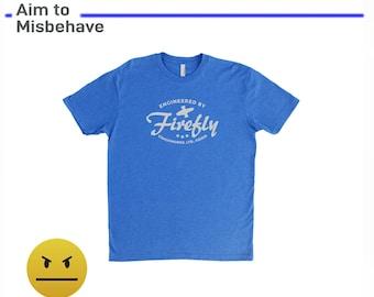 Firefly Serenity Unisex T-Shirt- Firefly Gift – Malcolm Reynolds - Geek Holiday or Christmas – Gift for Dad, Husband, Mom, Boyfriend