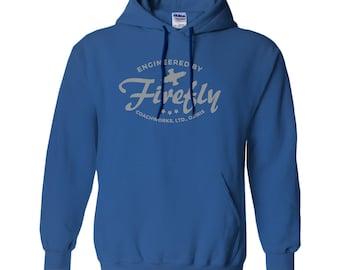Firefly Serenity Hoodie – Sweatshirt - Firefly Gift – Malcolm Reynolds - Geek Holiday or Christmas – Gift for Dad, Husband, Mom