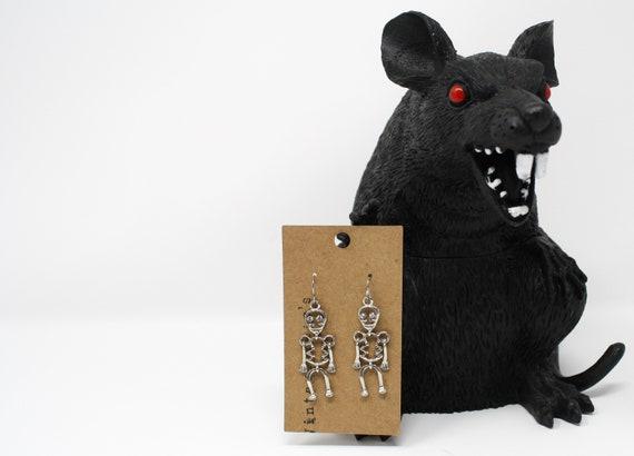 Skeleton Halloween Earrings