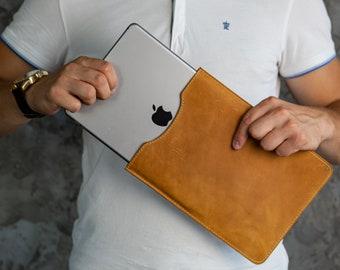 Leather iPad Case, Leather iPad Sleeve, Tablet Sleeve, Case for IPad Pro / Air & All IPad Models