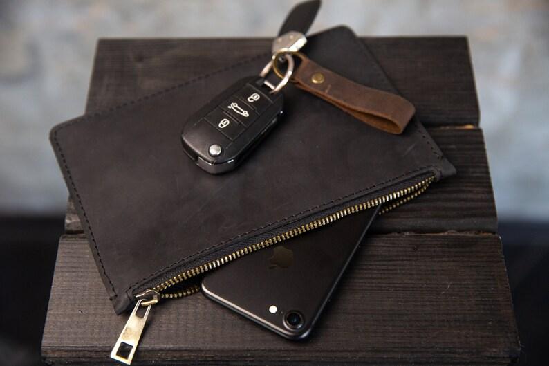 Leather big wallet men/'s wallet vintage slyle Gitt for Husband Personalized Gifts for Men Christmas Gifts hand wallet thin leather wallet
