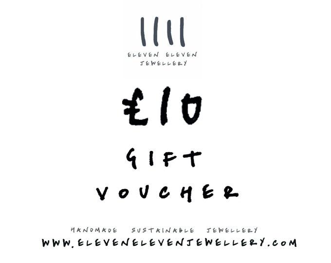 Jewellery gift voucher  - 10 GBP