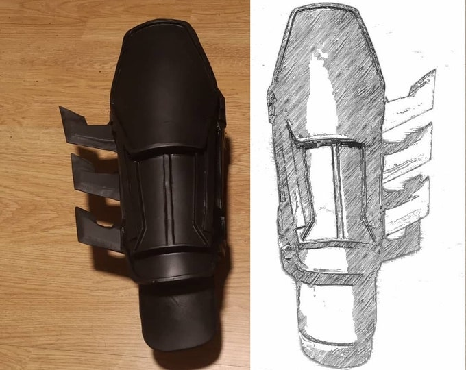 Batman Arkham origins gauntlets TEMPLATES for eva foam