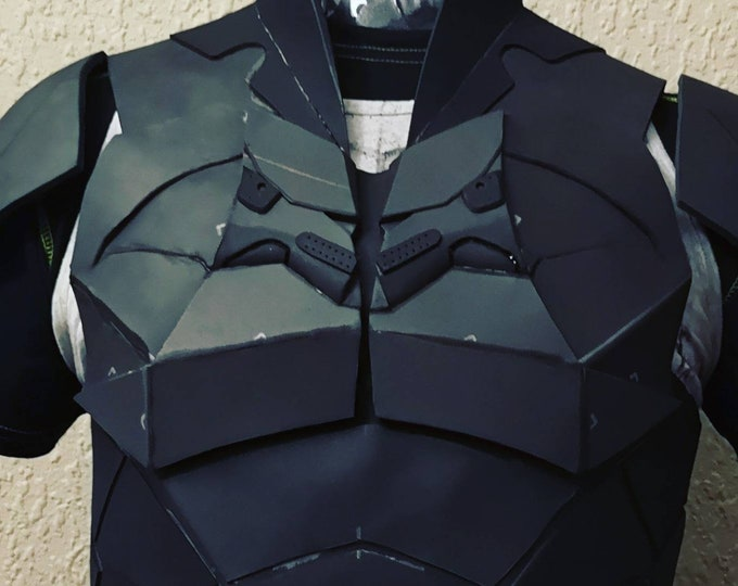 The Batman 2021 torso armor TEMPLATES for eva foam