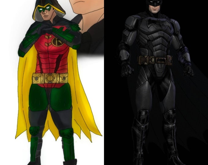 Custom Suits Order for BATWOLF