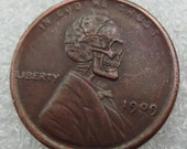 Hobo Nickel 1909 Lincoln special coin