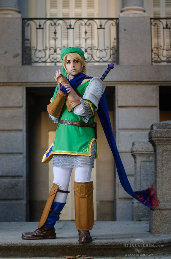 Link Hyrule Warriors The Legend Of Zelda Cosplay