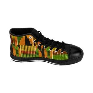 Kente Cloth Sneakers African sneakers