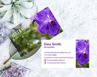 dōTERRA premium business cards, dōTERRA business start up, dōterra advocate cards, dōTERRA cards, doTERRA approved logo, doTERRA marketing