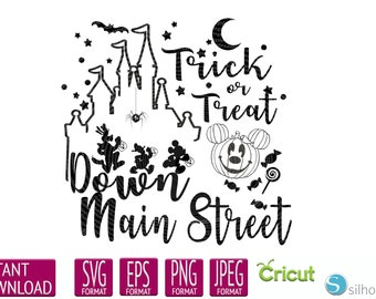 Disney Halloween Svg Etsy