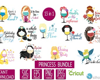 Disney Princess Svg Etsy