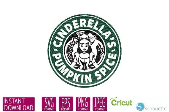 Starbucks Disney Svg Starbucks Disney Princess Cinderella Etsy