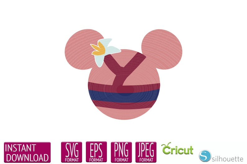 Mulan Mouse Ears Svg Mulan Svg Eps Dxf Png Cutfiles For Etsy