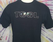 TOOL Aenima Eye Tour 2 Sided XL T Shirt by ANVIL 2003