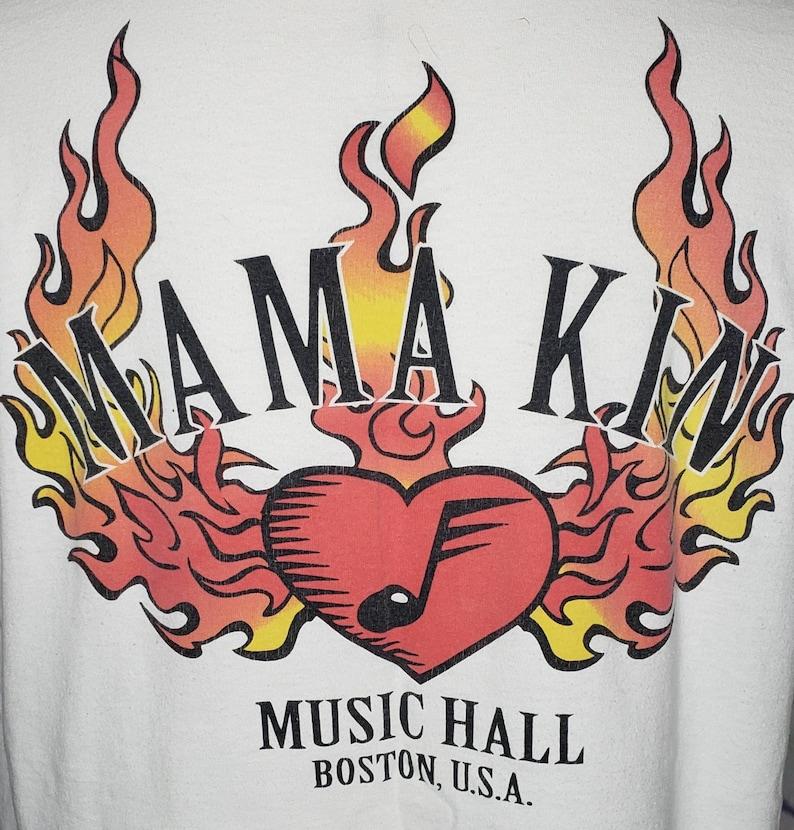VINTAGE Aerosmith Mama Kin Music Hall Boston 2 Sided XL T Shirt 1994 RARE