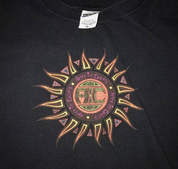 Vintage Alice In Chains 1994 T Shirt by Anvil Size