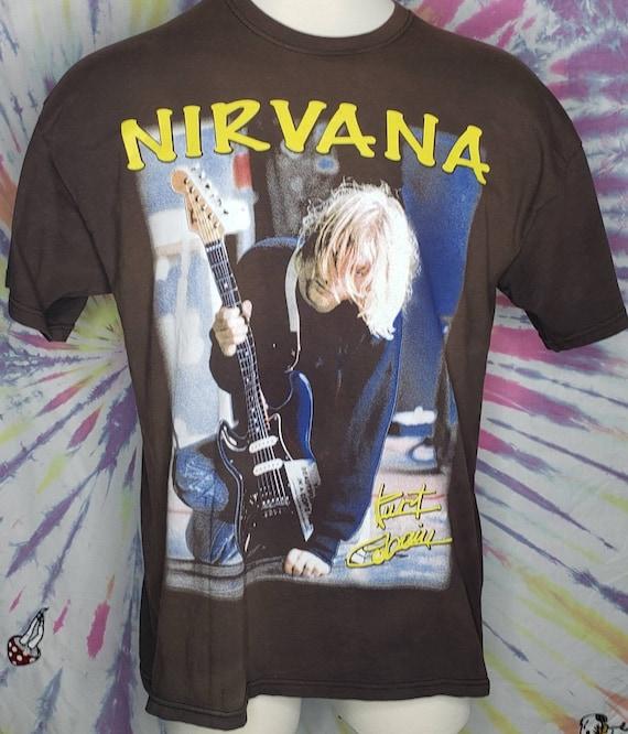 Vintage Kurt Cobain 2 Sided Nirvana XL T Shirt